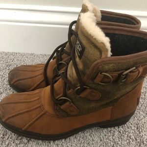 Women's Ugg winter boots size 6